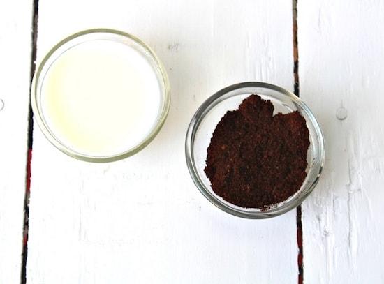 3 ماسک شیر و قهوه برای زیبایی پوست