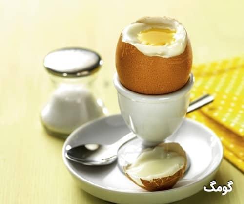 جدول ارزش غذایی تخم مرغ