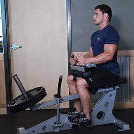 ساق پا نشسته با دستگاه