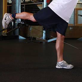 بلند کردن پا سیم کش به عقب