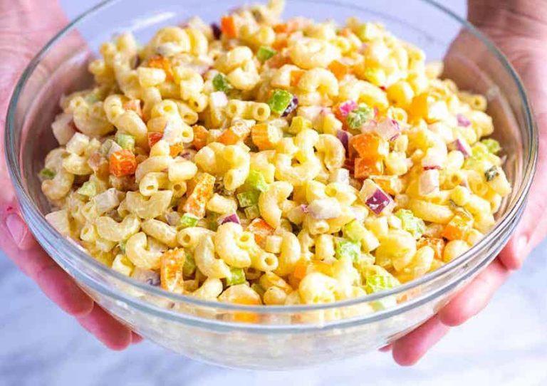 جدول ارزش غذایی و کالری ماکارونی پخته