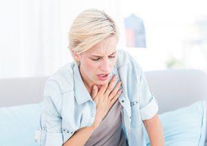 درمان تنگی نفس در خانه
