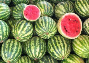 جدول ارزش غذایی هندوانه