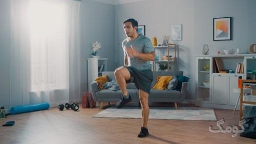 برنامه بدنسازی در خانه با وزن بدن