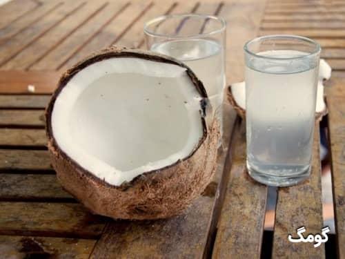 خواص آب نارگیل برای پوست