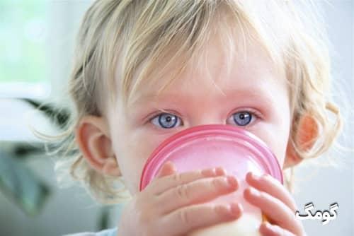حساسیت به شیر در کودکان