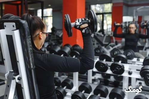 برنامه بدنسازی لاغری مبتدی بانوان ۵ روز در هفته