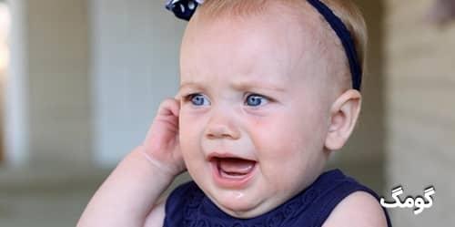 عفونت گوش میانی کودک : علت ها، علائم و درمان