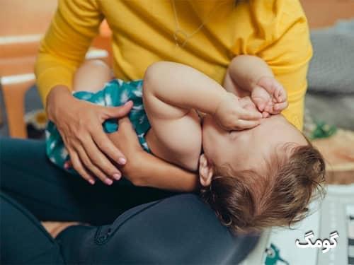 علائم آنفولانزا و سرماخوردگی نوزاد