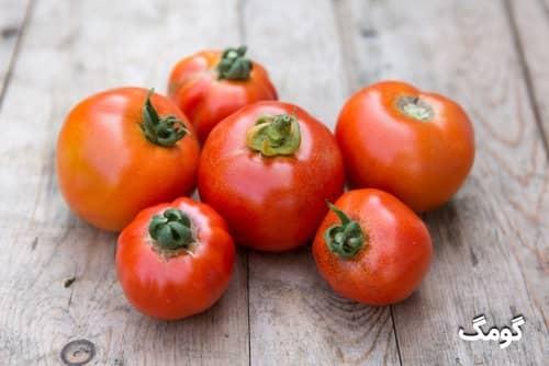 جدول ارزش غذایی گوجه فرنگی و کالری گوجه