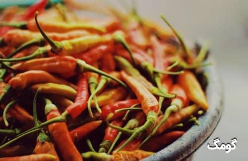 وقتی خوراکی تند می خوریم چه اتفاقی برای بدنمان می افتد؟