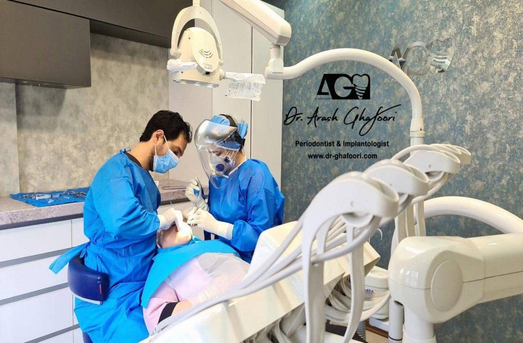 متخصص جراحی لثه در رشت